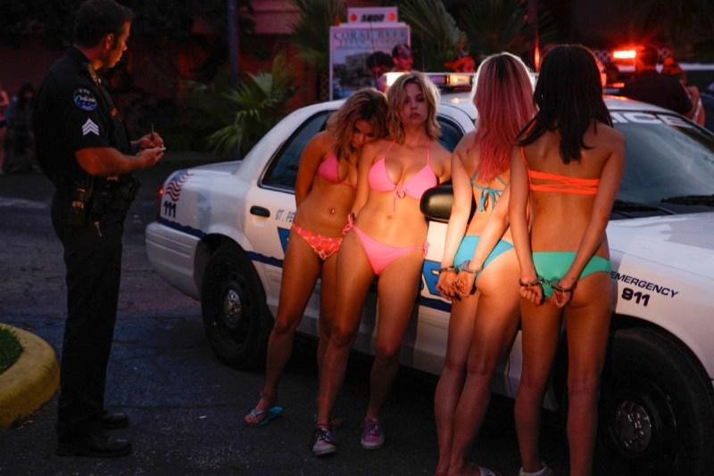 Spring Breakers - Rachel Korine, Ashley Benson, Vanessa Hudgens, Selena Gomez arrested in bikinis