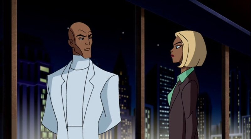 Superman Doomsday - Lex Luthor and Mercy