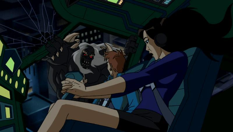 Superman Doomsday - Lois Lane and Jimmy Olsen meet Doomsday