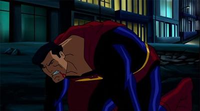 Superman Doomsday - Superman bloody