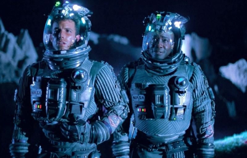 Armageddon movie Ben Affleck and Michael Clarke Duncan