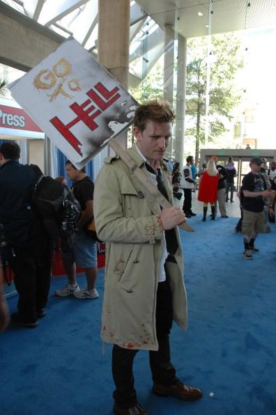 Baltimore Comic Con 2013 - Constantine