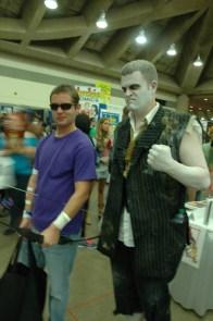 Baltimore Comic Con 2013 - Hawkeye and Solomon Grundy