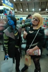 Baltimore Comic Con 2013 - Nightcrawler and Black Canary