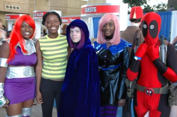 Baltimore Comic Con 2013 - Teen Titans