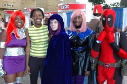 Baltimore Comic Con 2013 - Teen Titans