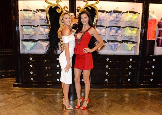 Fashion week Secret victorias fashion show comes to london for lady