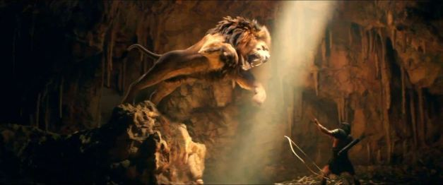 Hercules-2014 vs the lion