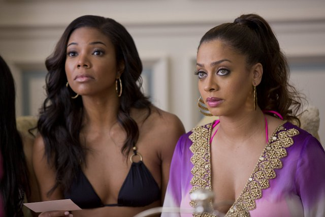 Matt Kennedy/Screen Gems Kristen (Gabrielle Union) and Sonia (LaLa Anthony).
