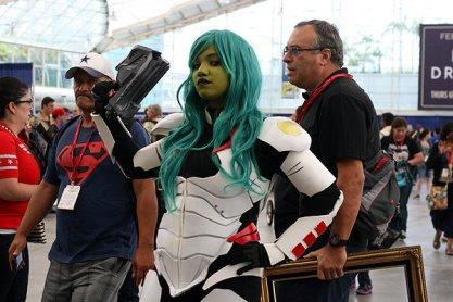 SDCC2014 cosplay - GOTG Gamora