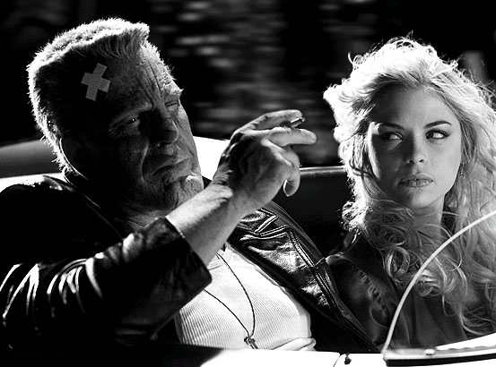 sin city 2005 - marv and goldie