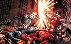 civil war - captain america vs iron man