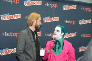 Troy Baker and Joker at NYCC2014