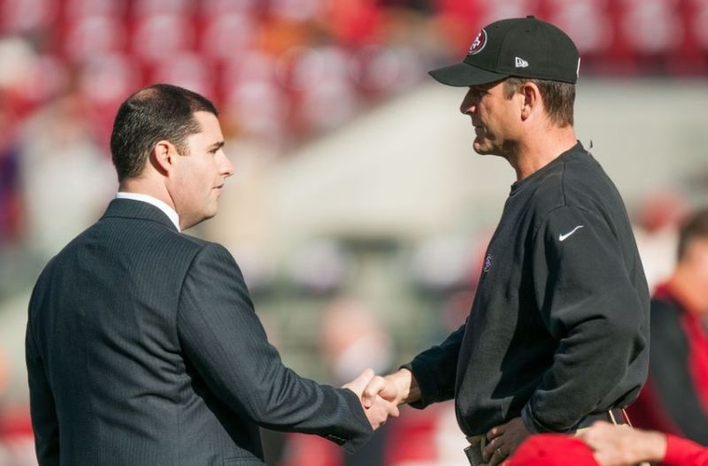jim harbaugh and jed york 49ers