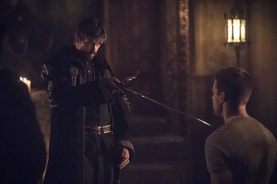 Arrow-Nanda-Ra's al Ghul and Oliver