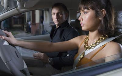 Quantum of Solace - Daniel Craig and Olga Kurylenko