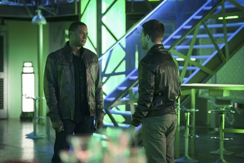 Arrow - The Offer - Diggle and Oliver