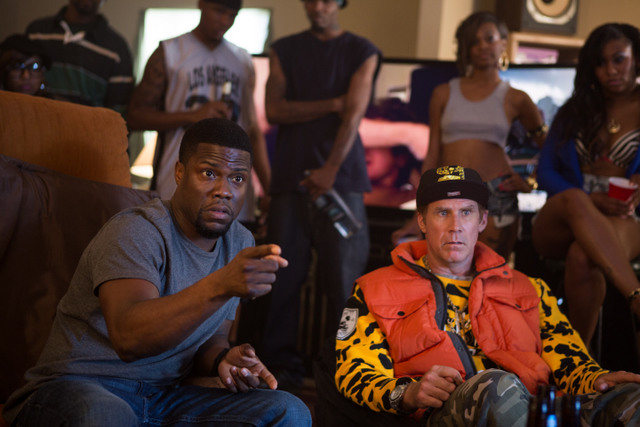 Get Hard - Kevin Hart and gangsta Will Ferrell