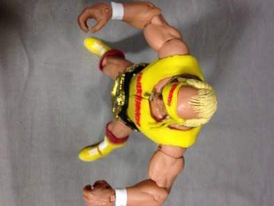 Hulk Hogan Defining Moments figure - hairline shot