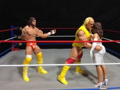 Hulk Hogan Defining Moments figure - Mega Powers friction