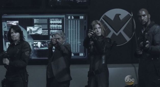 Agents of SHIELD - One Door Closes - SHIELD ver. 2 - Izzy, Gonzales, Bobbi and Mack