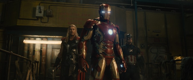 Avengers - Age of Ultron - Captain America, Iron Man and Thor