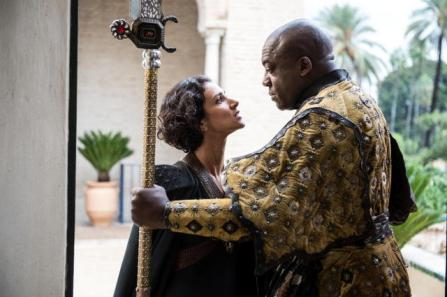 Game of Thrones - House_of_Black_and_White -Indira-Varma-and-Deobia-Opaeri