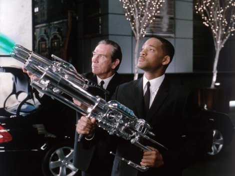 Men in Black 2 - Will Smith and Tommy Lee Jones