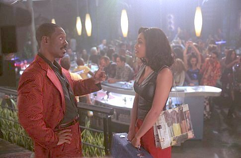 The Adventures of Pluto Nash pictures - Eddie Murphy and Rosario Dawson