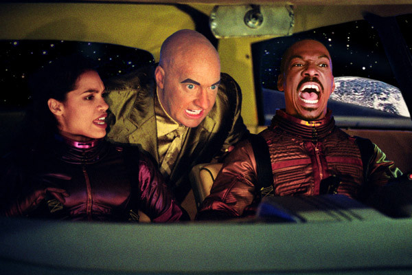 The Adventures of Pluto Nash pictures - Rosario Dawson, Randy Quaid and Eddie Murphy