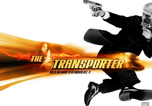 The Transporter 2002 poster