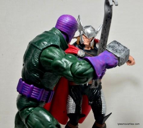 Marvel Legends Thor figure review -fighting Wrecker