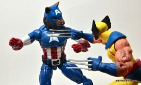 Marvel Legends Captain America review - Cap Wolf vs Wolverine