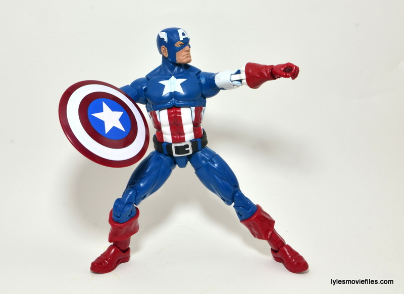 Marvel Legends Captain America review -ready to sling shield