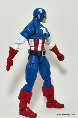 Marvel Legends Captain America review -right side