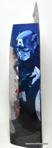 Marvel Legends Captain America review -side package