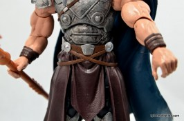 Marvel Legends Odin and King Thor review - belt detail