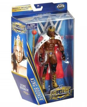 WWE Hall of Fame series 4 - Booker T in package side