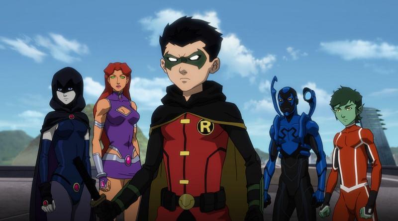 Justice League vs Teen Titans - The Teen Titans