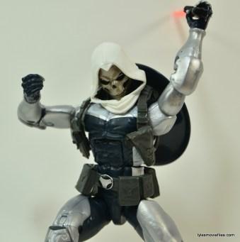Marvel Legends Taskmaster figure -sword up