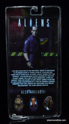 NECA Aliens Bishop - rear package