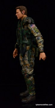 NECA Aliens Sgt Craig Windrix figure -left side