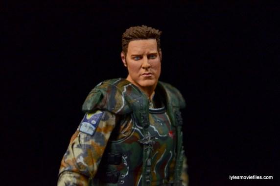 NECA Aliens Sgt Craig Windrix figure - side profile