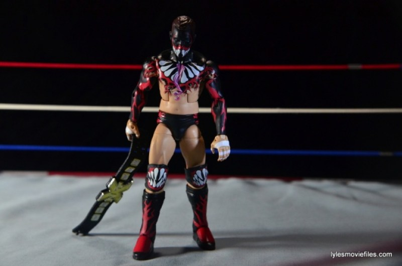 WWE Elite 41 Finn Balor - dragging NXT title
