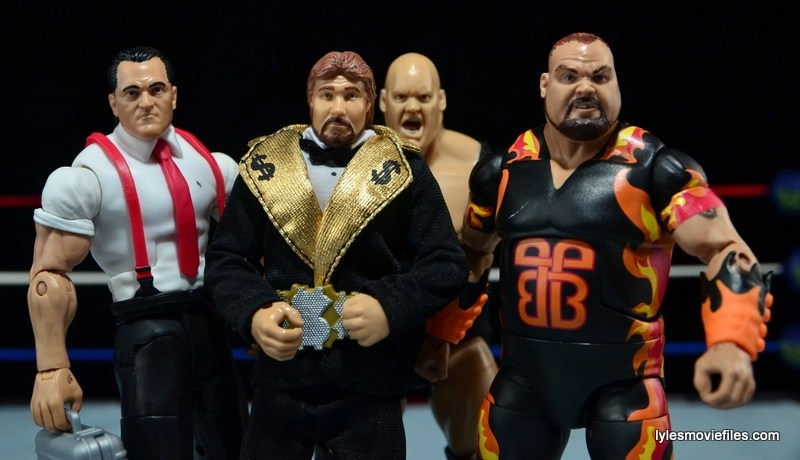 WWE IRS Mattel Elite figure review - with the Million Dollar Corporation