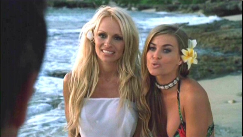 pamela anderson and carmen electra baywatch