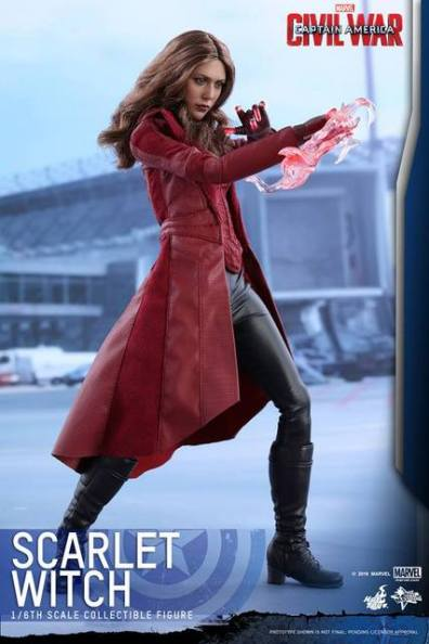 Hot Toys Scarlet Witch figure -power flaring