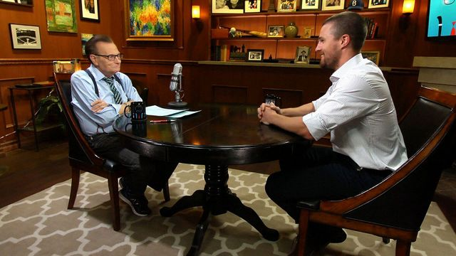 Larry King Now - Larry King and Stephen Amell