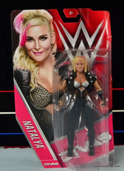 WWE Natalya figure review - front package