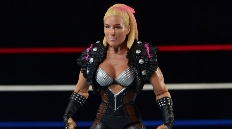 WWE Natalya figure review Mattel Basic